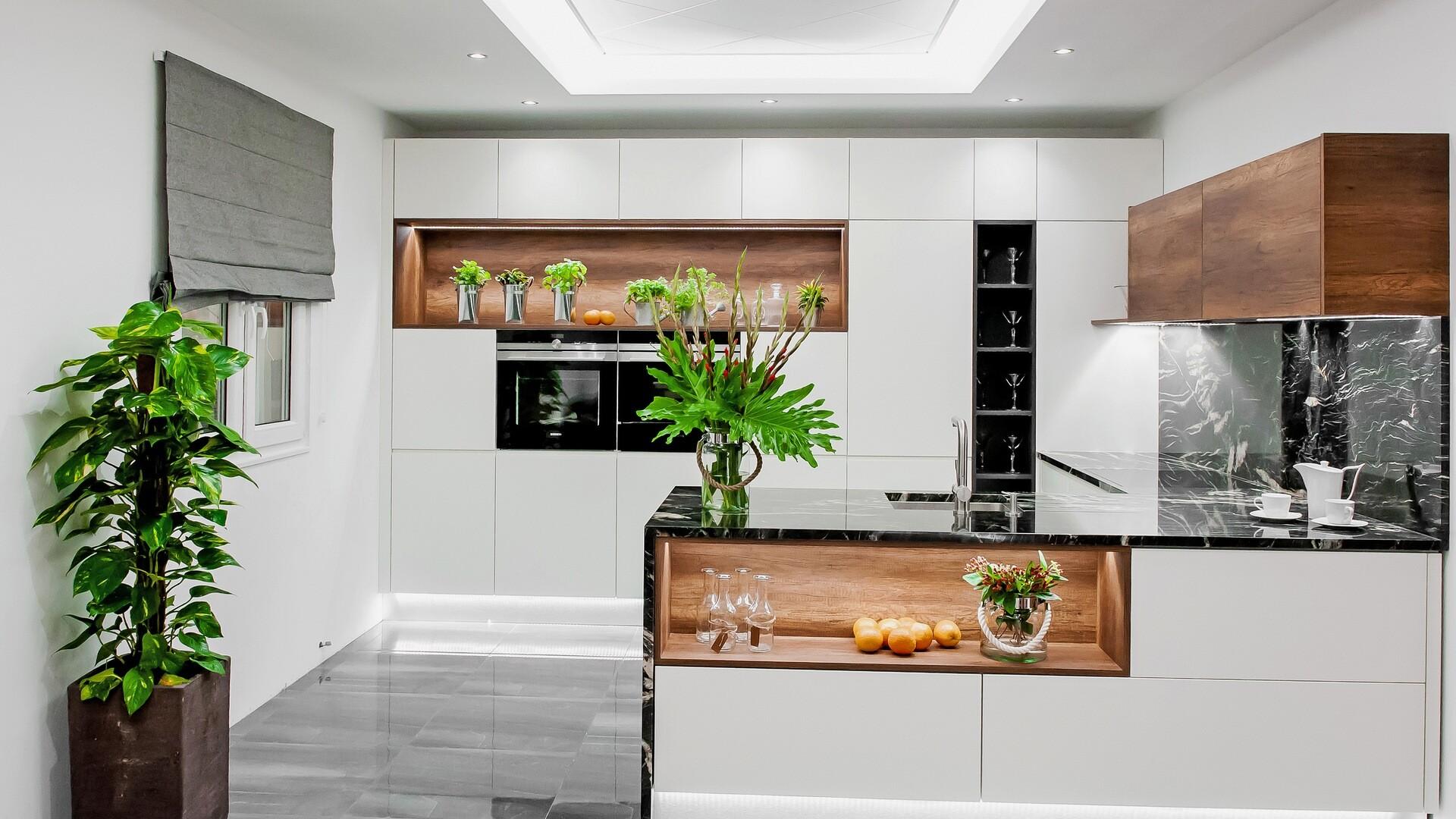 inspirace moderni kuchyne bianco crema
