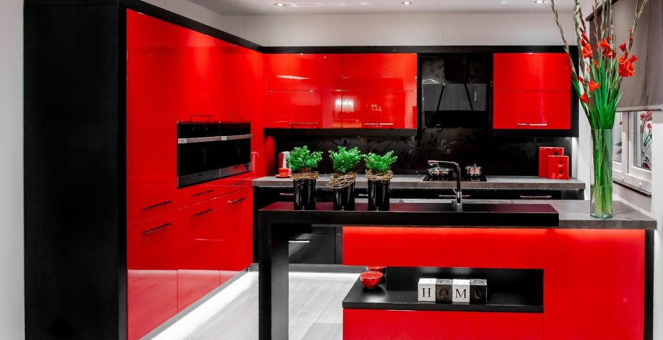 kuchyne na miru rosso