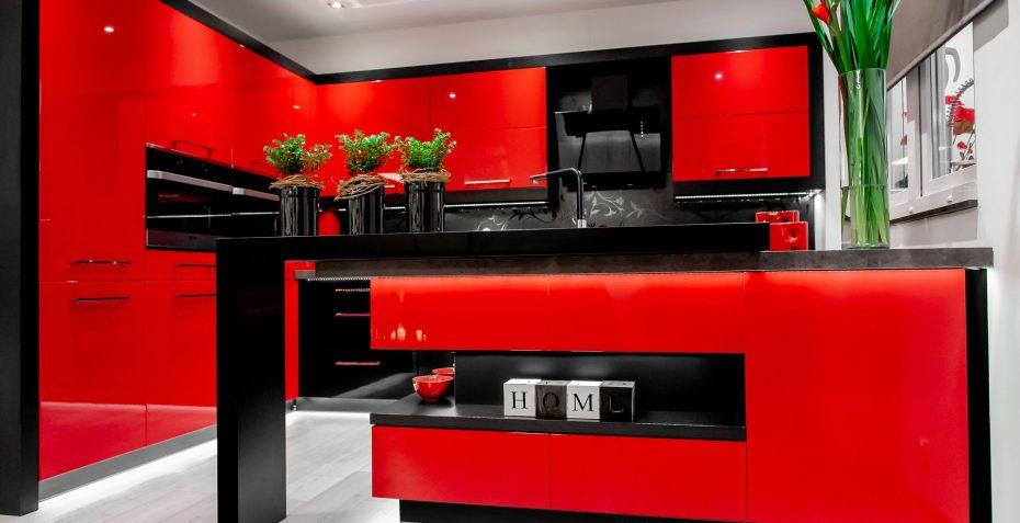 kuchynska linka rosso