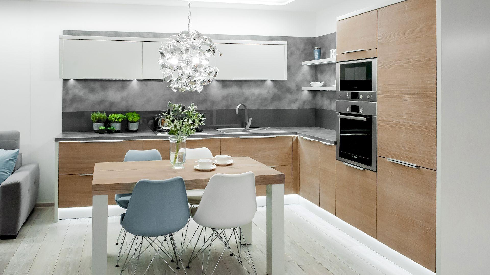 moderni rohova kuchynska linka ravenna