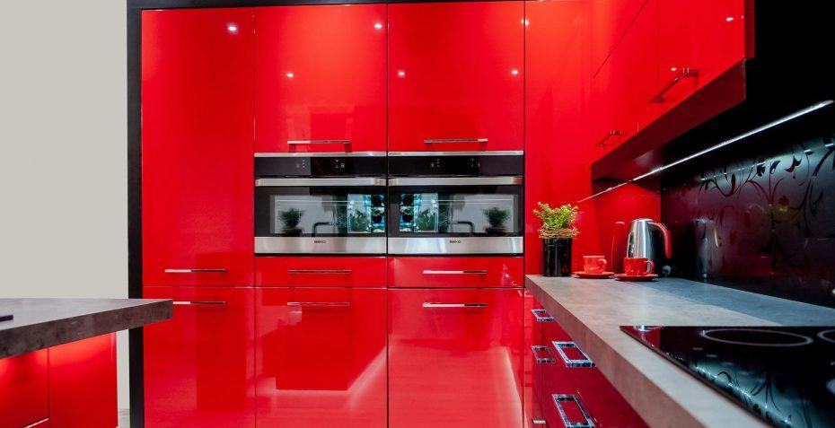 rohova kuchynska linka rosso