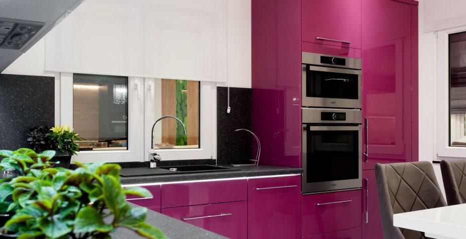 inspirace moderni kuchyne traffic purple