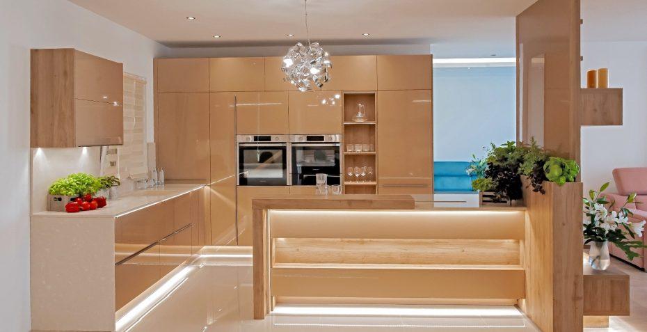 moderni kuchyne galaxy gold