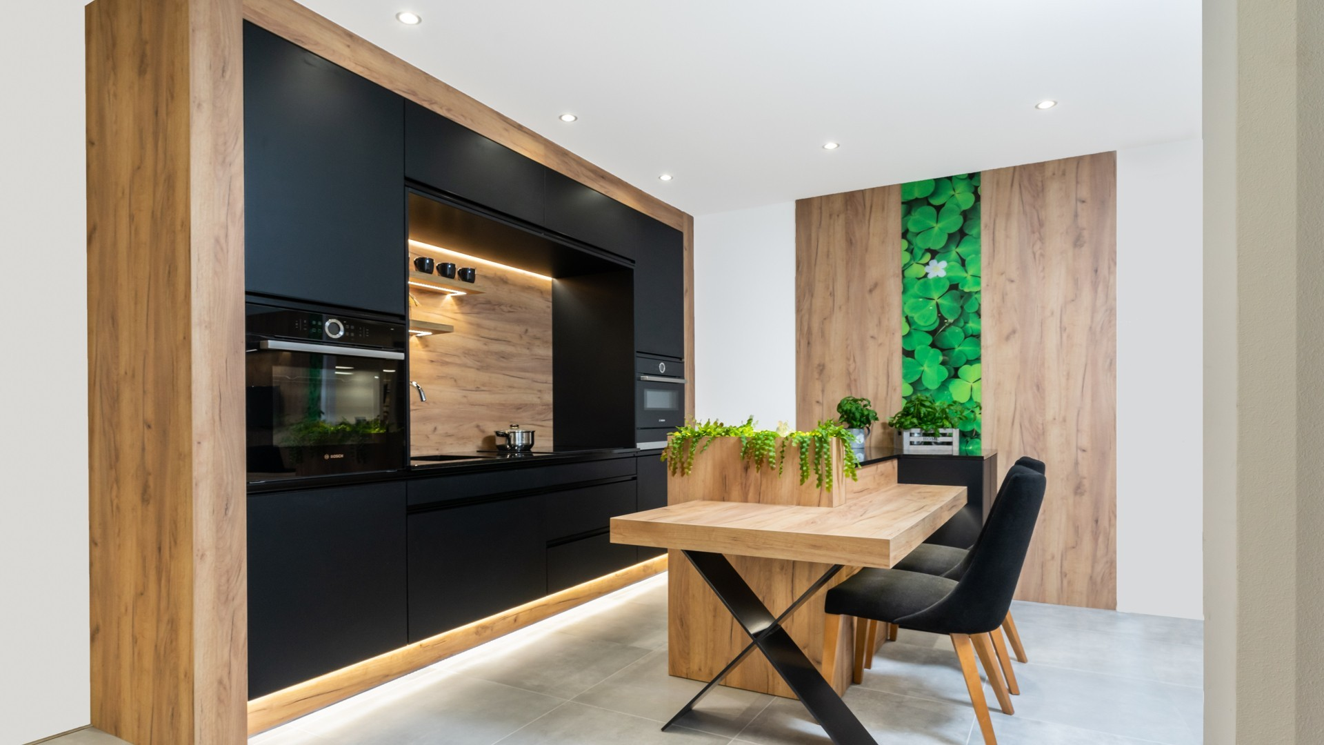 moderni rohova kuchynska linka monza